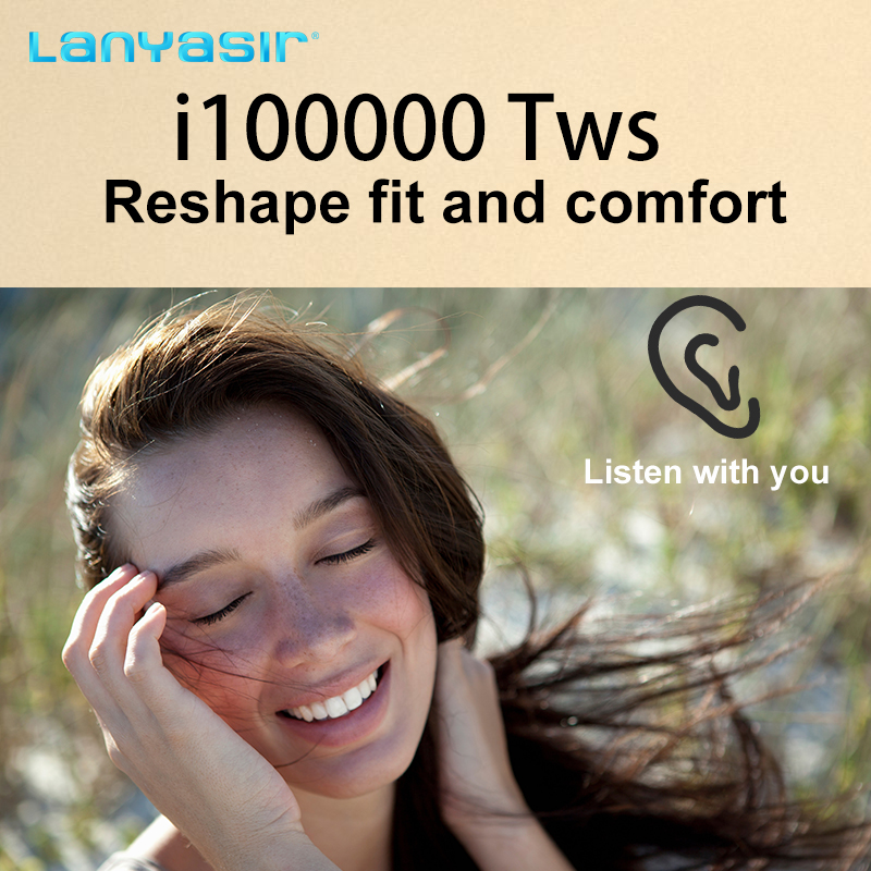 Lanyasir New i100000 <font><b>TWS</b></font> 1:1 Super Copy Wireless Bluetooth Earphone pk w1 h1 1536u chip i500 i10000 i50000 <font><b>i9999</b></font> i90000 pro <font><b>TWS</b></font> image