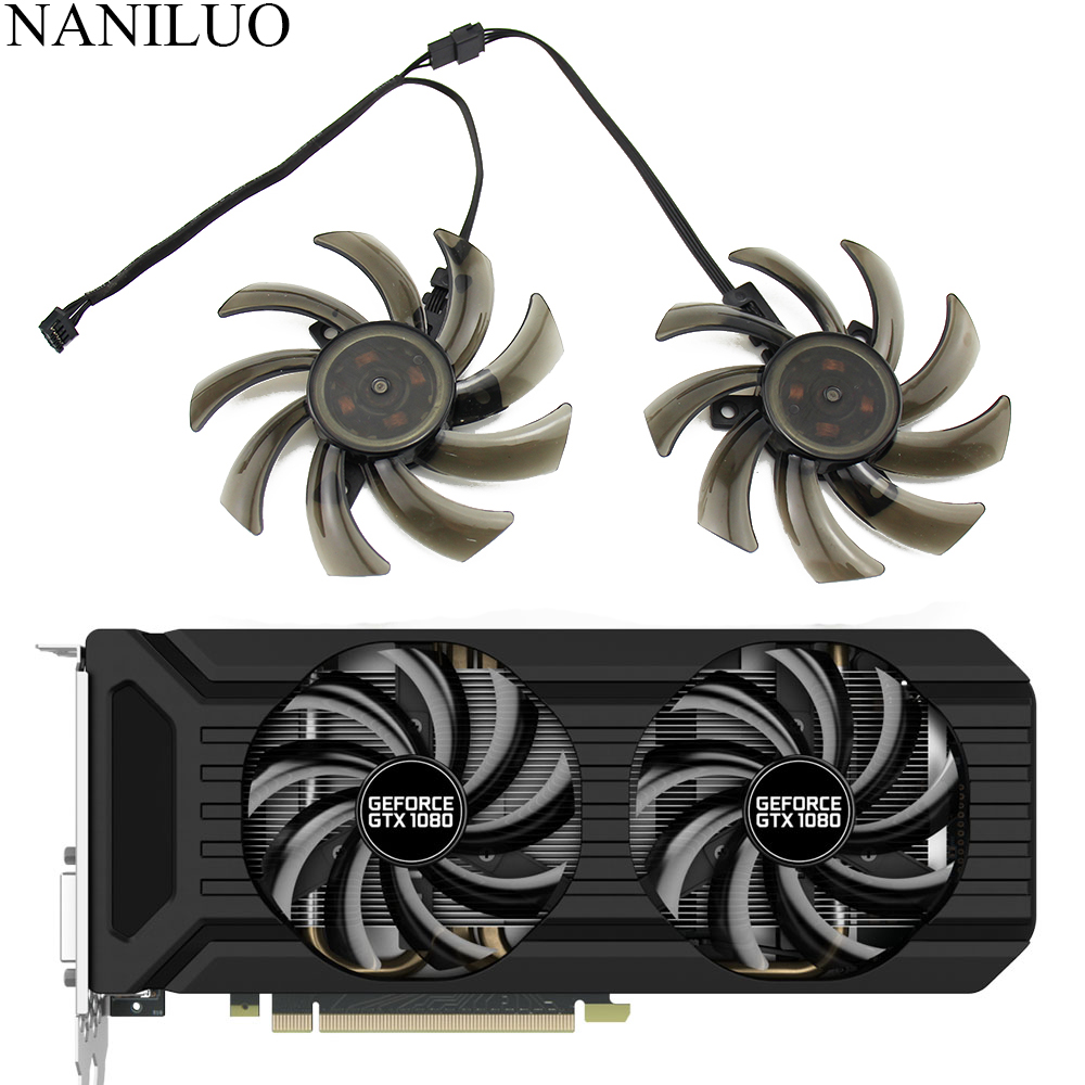 GTX 1070 TI 87mm GA91S2U GA91S2H FDC10H12S9-C GPU Cooler Fan For Palit GeForce GTX 1060 GTX 1080 GTX1070 Ti 8G Dual Video Card image