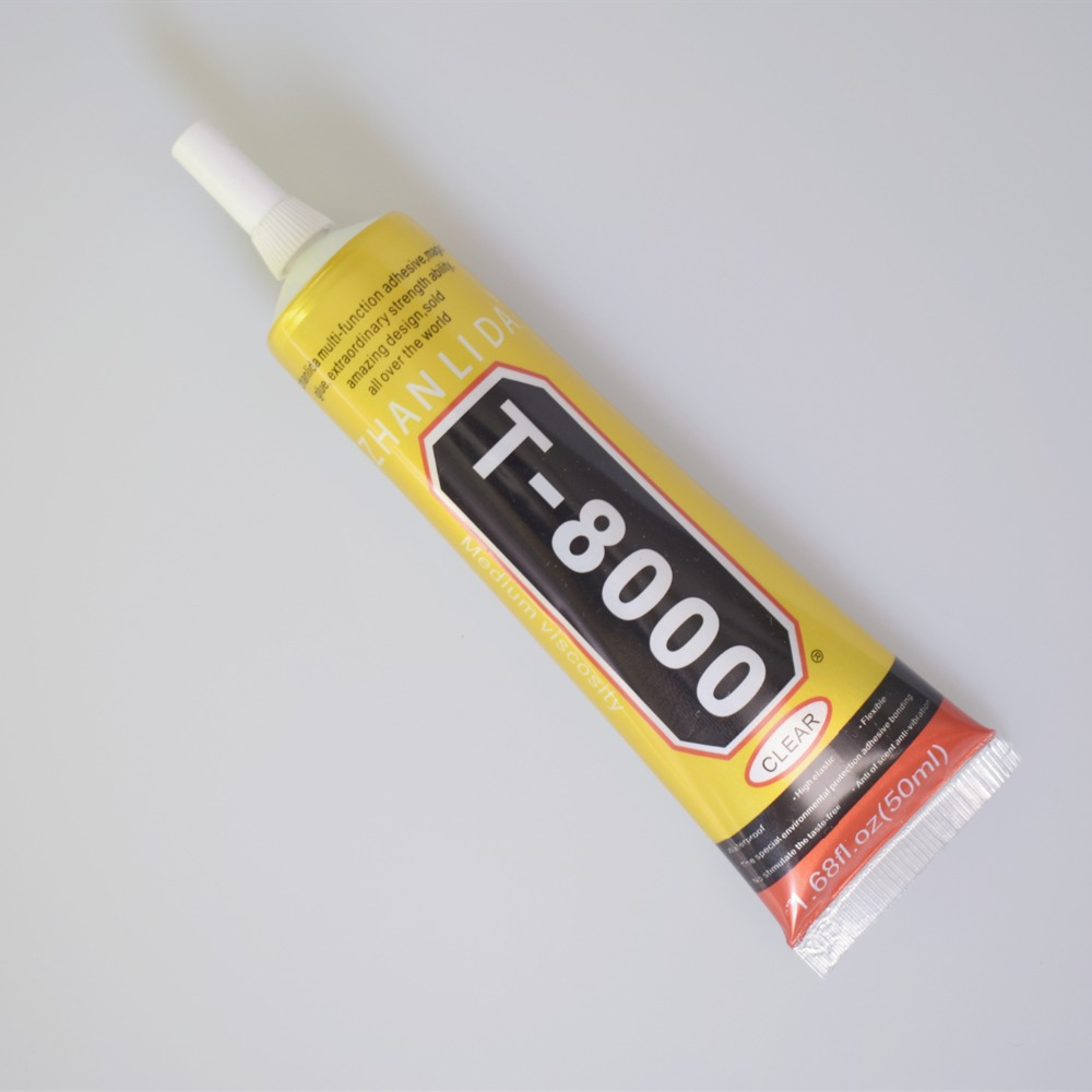 1 Pcs 50ml Super T-8000 Glue T8000 Multi Purpose Glue Adhesive Epoxy Resin Repair Cell Phone LCD Touch Screen Glue T 8000