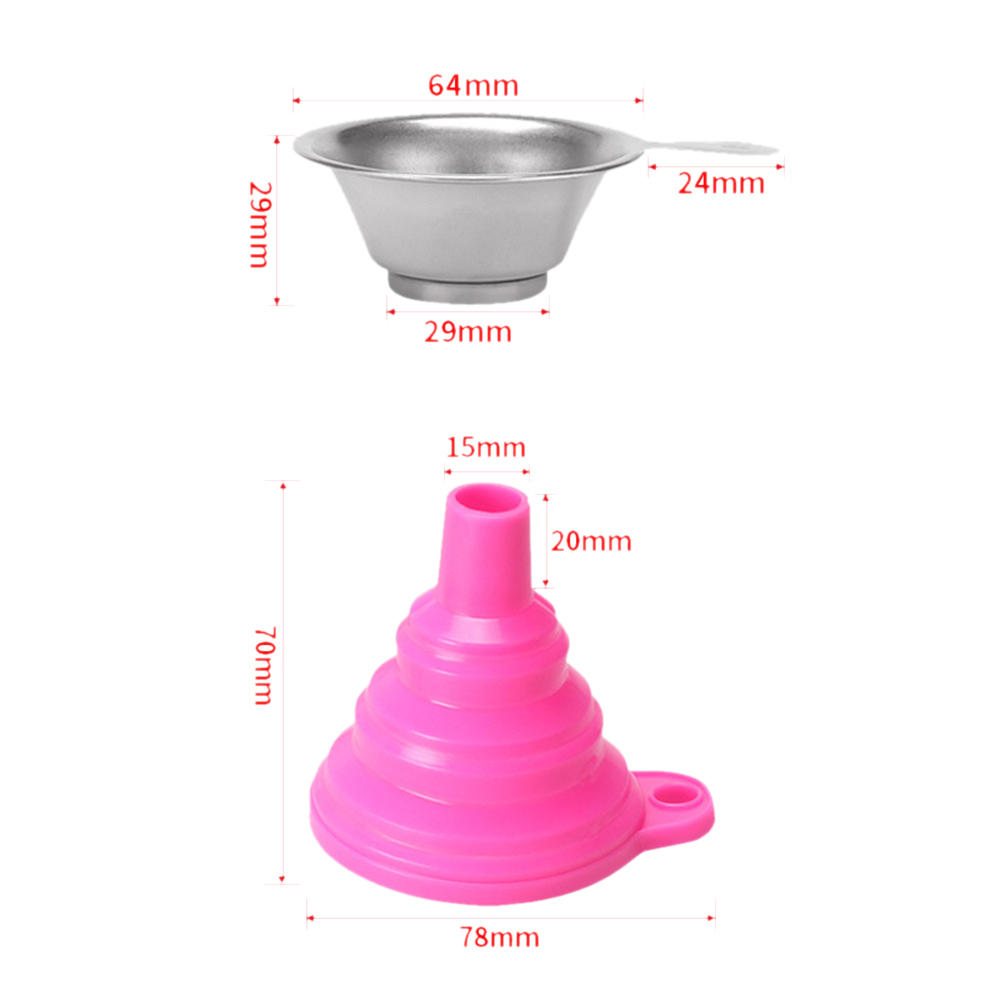 Metal UV Resin Filter Cup and Disposable Silicone Funnel ANYCUBIC Photon SLA 3D Printer 4