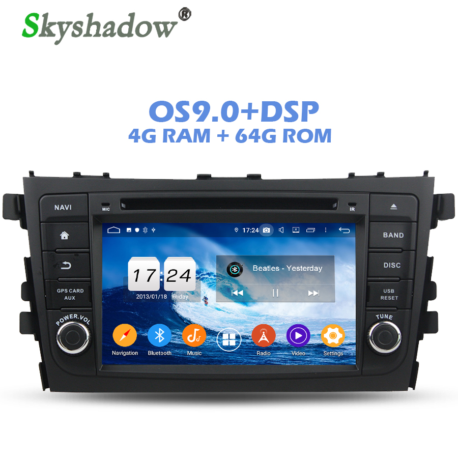 Car DVD Player Rds-Radio Dsp Android Wifi Bluetooth Suzuki Alto CULTUS 64GB-ROM 1