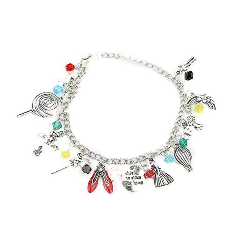 Balloon Dance Shoes Lolly Pendant Bracelet For Women Charm Bangles Jewelry As Gift For Girls Dance