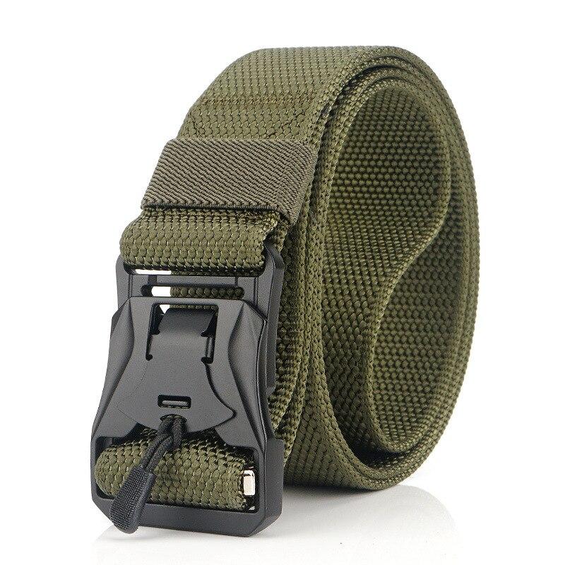 Военный инвентарь армейские тактические ремни для мужчин США армейский тренировочный нейлоновый пояс с металлической пряжкой пояс для охоты на открытом воздухе - Цвет: green1
