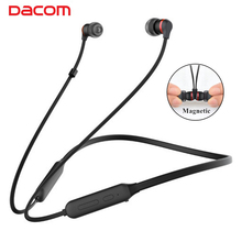 DACOM L06 Wireless Bluetooth Earphone Stereo Magnetic In Ear Sports Headset with Mic Handsfree Calls for iPhone Xiaomi MP3