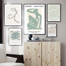Вильям Моррис Пикассо Матисс абстрактная настенная живопись холст скандинавские постеры и принты настенные картины для декора гостиной