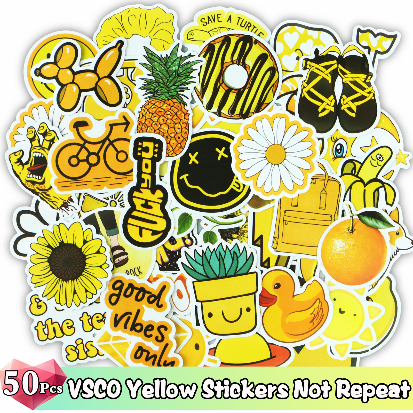 Купить с кэшбэком 52/50 Pcs/Lot VSCO Stickers Mixed Cartoon Animal Super Hero Sticker for Water Bottle Luggage Notebook Skateboard Kids Toy