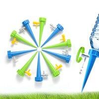 Sistema de rega de irrigação por gotejamento automático ponto rega para plantas flor doméstico interior garrafa água irrigação por gotejamento Kits de rega     -