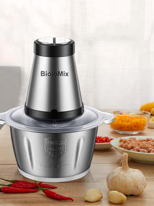 Slicer Mincer Meat-Grinder Food-Processor Electric Chopper Stainless-Steel 500W 2l-Capacity