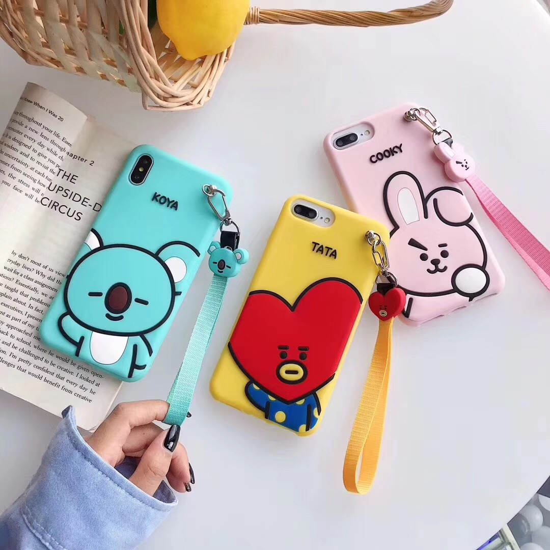 INS Korea Hot Cartoon youth league Phone <font><b>Case</b></font> For <font><b>iPhone</b></font> 11 Pro XS Max XR <font><b>X</b></font> 8 7 6 6s Plus Cute <font><b>3D</b></font> soft <font><b>silicon</b></font> Cover Coque image