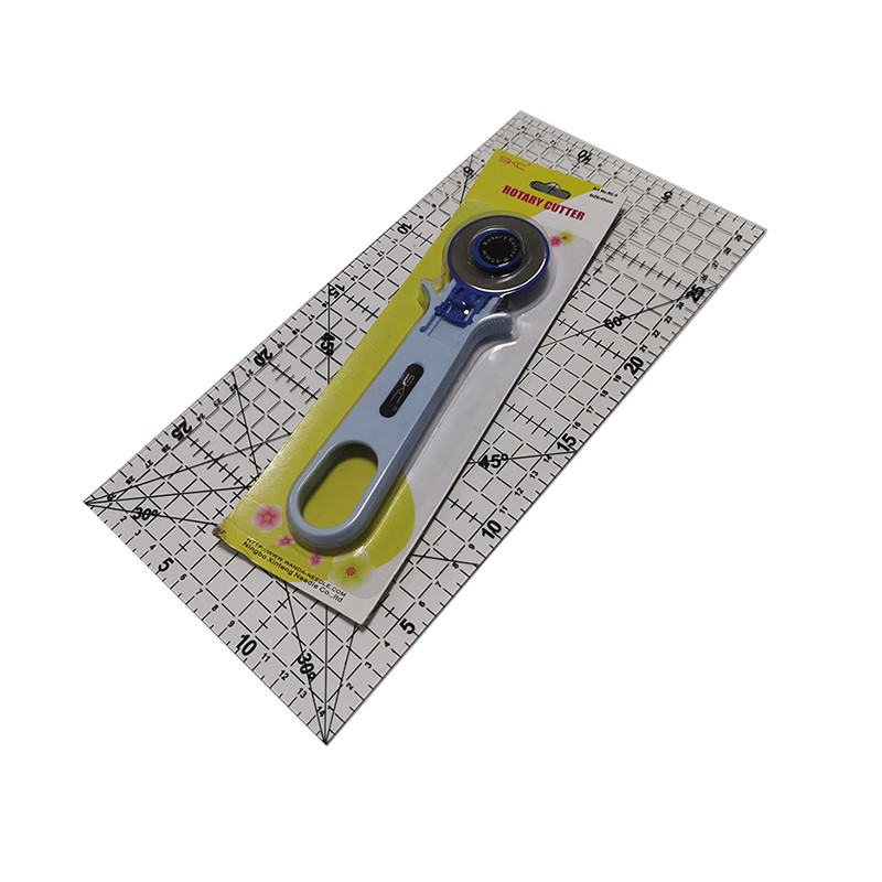 Patchwork Tool Set 30 * 15cm Patchwork Ruler Plus Cutting Wheel Knife Combination Sewing Tools Clothing Design Drawing Ruler