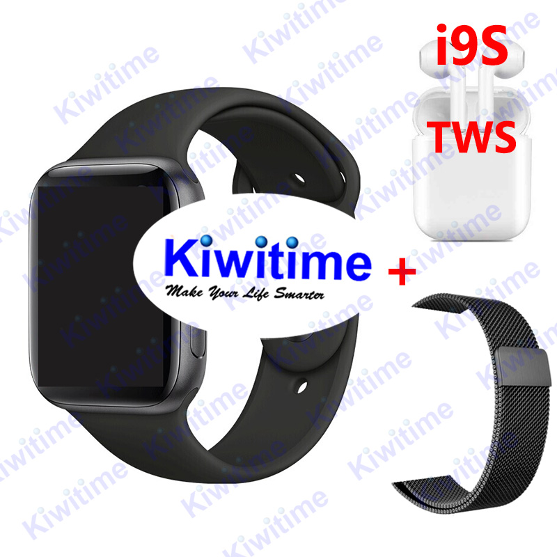 <font><b>IWO</b></font> 11 Smart Watch Man Bluetooth GPS <font><b>Smartwatch</b></font> 1:1 <font><b>44mm</b></font> Case for Apple iOS Android Heart Rate Monitor Smart Clock VS <font><b>IWO</b></font> <font><b>8</b></font> IWO9 image