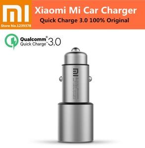 Image 2 - Xiaomi Mi מטען לרכב 100W 36W 37W QC 3.0 USB הכפול 20V/1.35A 5V/3A 9V/2A 12V/2.25A עבור Mi 10 פרו Redmi K30 פרו iPhone 12 פרו מקסימום
