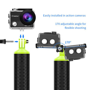 Image 2 - Universal Floating Hand Grip Waterproof Handle Hand Grip Buoyancy Bar Monopod for Gopro Hero 5 4 3 Xiaomi Yi Action Camera 2 4K