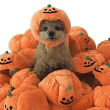 Хеллоуин костюм собачья шляпа для собак тыква аксессуары домашних
