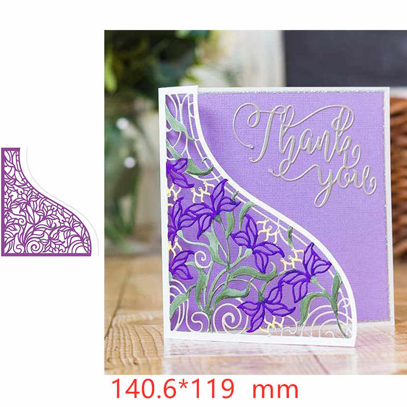 Floral Vine Metal Cutting Dies Stencil for DIY Scrapbooking Embossing Paper Cards Making Decorative Crafts Supplies New 2019