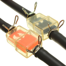 6 мм топливный шланг фильтр с 4 зажимами для большинства мотоциклов Мотоцикл Скутер