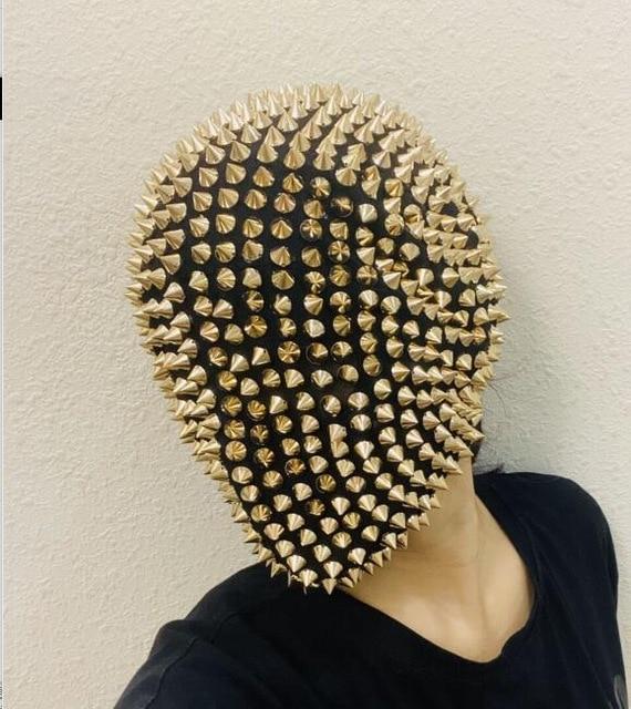Night-club-dance-mask-Hedgehog-casque-Thorn-mask-Rivet.jpg_640x640