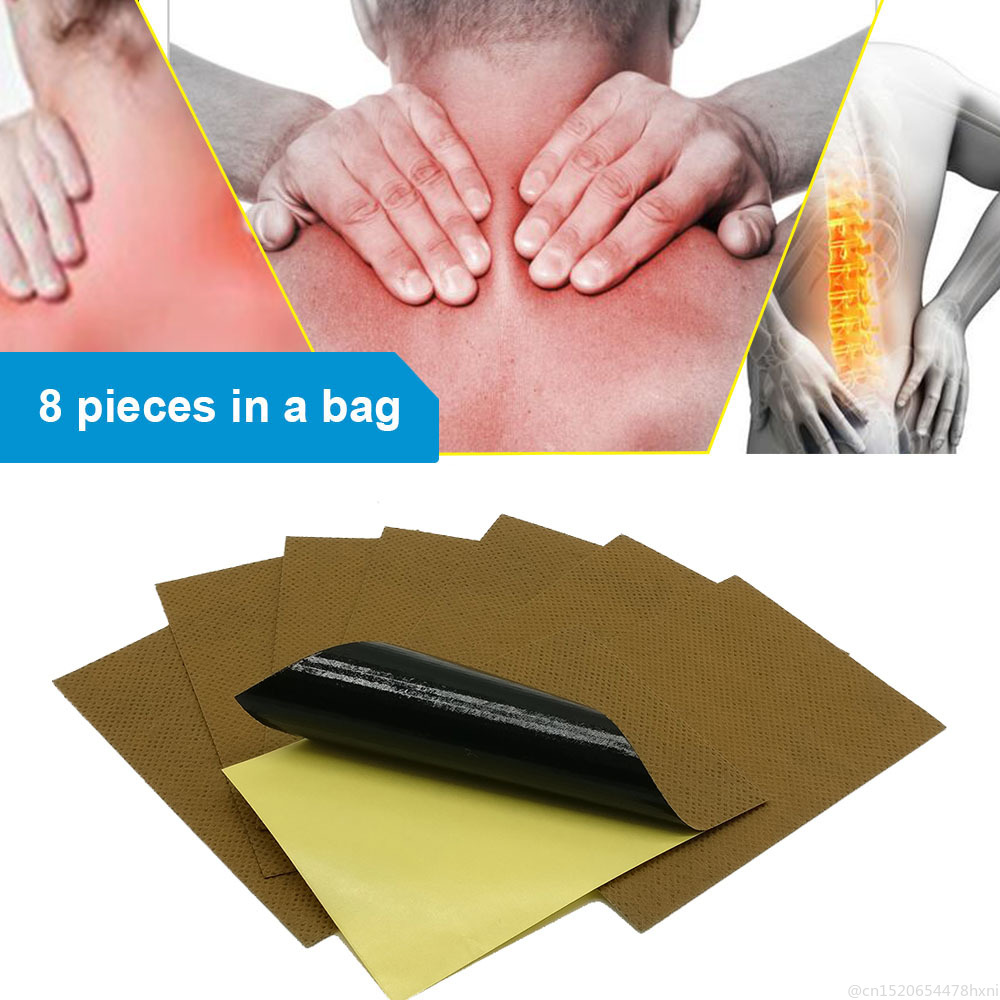 8Pcs/bag Medical PlasterJoint Pain Patch For Neck Back Body Pain Relaxation Medical Plaster Tiger Relax Stickers Toiletry Kits