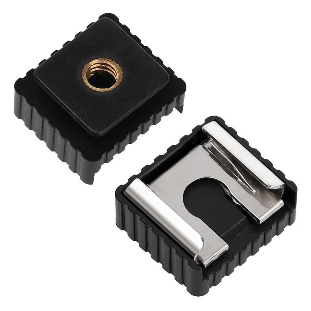 Tool Parts Quality Flash Hot Shoe Mount Adapter of 1//4 Screw Thread for Studio Light Stand Tripod For Canon 580EX II//580EX//550EX//540EZ