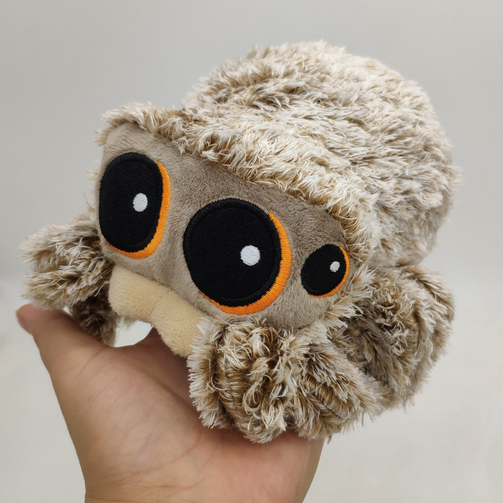 Hot Movie 20cm Lucas The Spider Plush Toys Stuffed Soft Insect Animals Dolls For Kids Children Baby Birthday Christmas Gifts