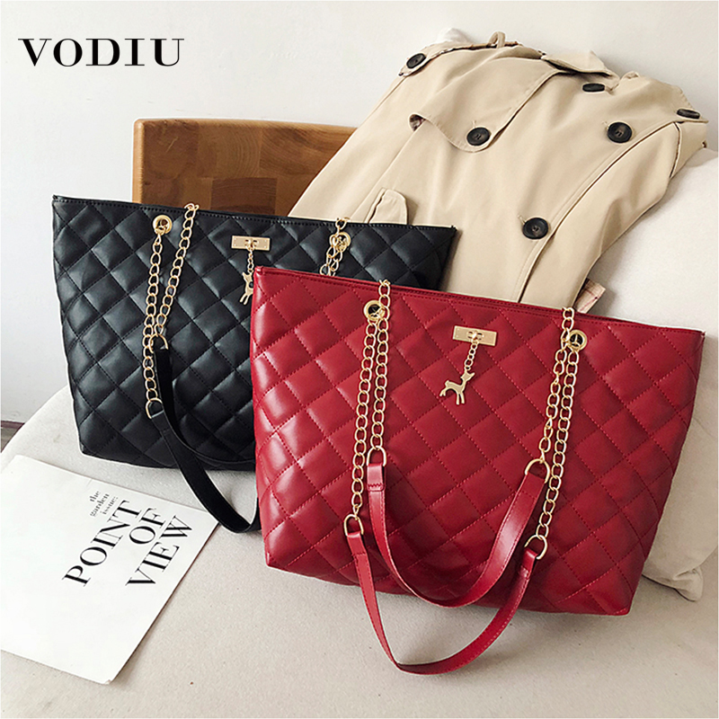 New Casual Hobos Bag Big Women Shoulder Bags PU Leather Large Capacity Tote Bucket Lady Wild Fashion Women's Shoulder Handbag