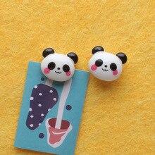 2pc Giant Panda Map Thumbtacks Office Pin Decorative Pushpin Cork Board Thumb Tack Pin Stationary DIY Wall Office Binding Supply
