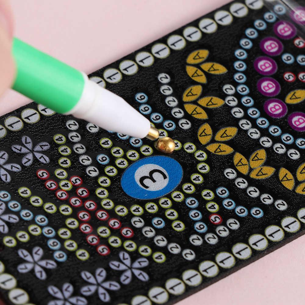 1 Máy Tính Mới Dẻo Silicone Hình 5D Tranh Gắn Đá Điểm Khoan Bút Đồ Trang Trí May Thêu Công Cụ Chéo Nữ Thời Trang Phụ Kiện
