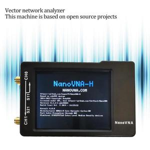 Digital Antenna Analyzer Digital Shortwave Antenna Meter Tester Nano VNA-H 50KHz-900MHz Vector Network MF HF VHF UHF(China)