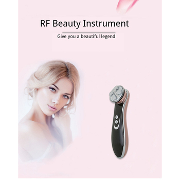 Ultrasound Apparatus Electric Color Light Increase Elasticity Unblock Lymph Relieve Fatigue Reduce Oil Secretion Beauty Machine