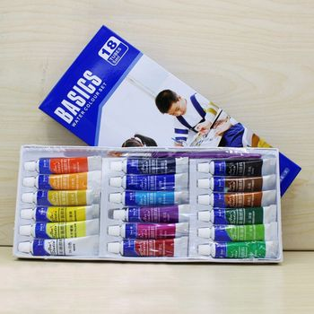 12/18/24 Colors 5ML Tube Watercolor Paint set Art Painting Drawing Tools For Kid L41F original south korean high quality very good wcs 103water colors 24 colors 7 5 ml watercolor oil paint