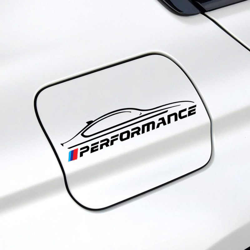 1 Uds pegatina de espejo retrovisor de coche tapa de tanque de combustible de coche etiqueta para BMW M3 M5 M6 X1 X3 X5 E34 E39 E36 E60 E90 E46 F30 accesorios de coche