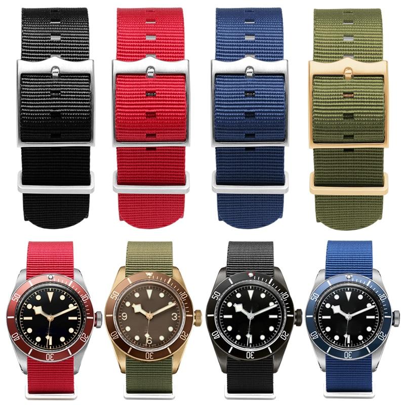 Nylon Strap 22mm Watch Band Waterproof Sport For BLACK BAY 79230R 12710 Watchband Nato Strap Fashion Bracelet Luxe Style