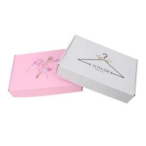 Atacado personalizado embalagem caixa de papel impressão logotipo apto para acessórios de vestuário cachecol perucas camisa embalagem caixa de presente