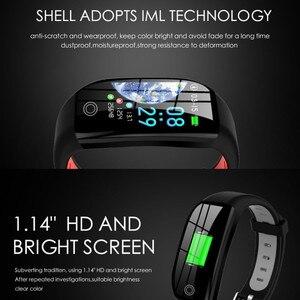 Image 2 - F21 Smart Bracelet GPS Distance Fitness Activity Tracker IP68 Waterproof Blood Pressure Watch Sleep Monitor Band Wristband