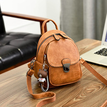Backpack Female 2020 New Korean Fashion All-match Dual-Use Shoulder Bag Casual Mini Women's Backpack Tide tide fashion female korean backpack all match shoulders