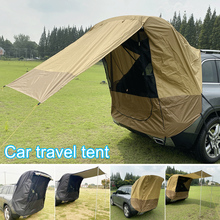 Tailgate Shade Awning Tent For Car Travel Small To Mid Size Suv Waterproof Easy To Carry F-best