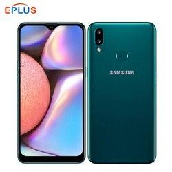 Глобальная версия Dual SIM Samsung Galaxy A10S A107F/DS мобильный телефон Android 9,0 4000 мАч 2 ГБ 32 ГБ 6,2 дюйм13MP отпечаток пальца 4G телефон