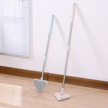 Extendable Sponge Cleaning Brushes Creative Multi-function Long Handle Soft Bathroom Tub Tile Scrubber Spin Corner Cleaner Mops