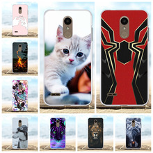 все цены на For LG K8 2018 K9 Protective Case Ultra-thin Soft TPU Silicone For LG K8 2018 Cover Cute Cartoon Patterned For LG K9 Coque Capa онлайн