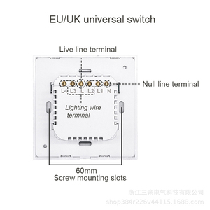 Image 2 - Wifi Smart Light Switch Wall Glass Screen Interruptor Touch Panel Voice Control Wireless work for Alexa Google Home 1/2/3/4 Gang