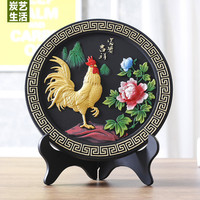 China foreign business gift 2019 HOME OFFICE Shop company efficacious Talisman Auspicious LUCKY Rooster FENG SHUI Sculpture ART