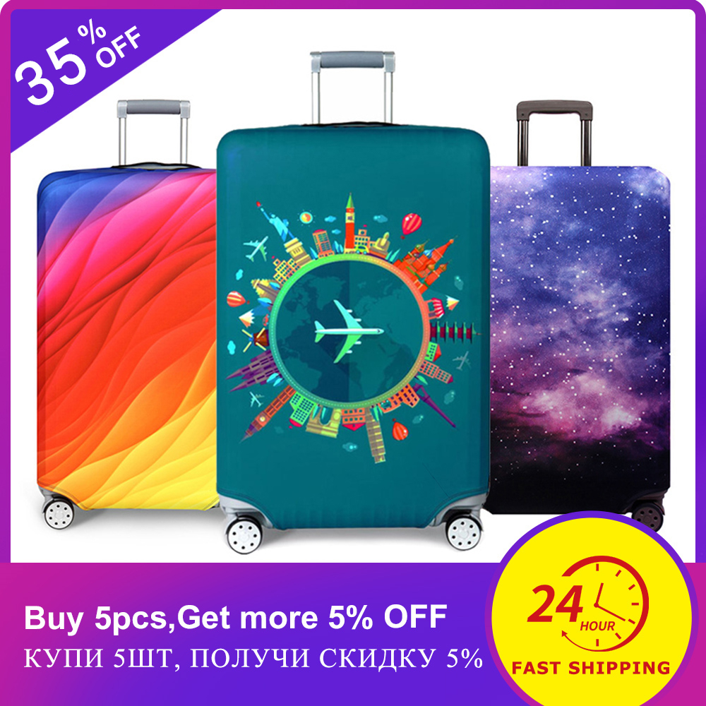 Suitcase-Case Luggage-Cover Protective-Cover Travel-Accessorie Baggag Apply-To 18-32inch