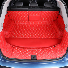 3D Full Covered Waterproof Boot Carpets Durable Custom Special Car Trunk Mats for Jaguar XE XEL XK SJL XJ F/S/X-Type XF F-PACE 3d full covered waterproof boot carpets durable custom car trunk mats for 2012 2018 year jaguar xfl xel xjl f pace xf xj