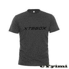 Tees T-Shirt Yamaha Xt660x Short-Sleeve Round-Neck Men 100%Cotton for New LOGO Summer
