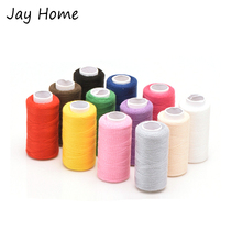 12 Colors Polyester Sewing Thread Strong and Durable Embroidery Thread Spool for Hand Sewing DIY Needlework Sewing Tools 350M