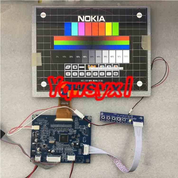 Yqwsyxl VGA+AV LCD Controllerplatine 10.4