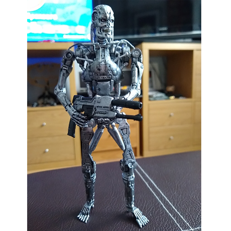 7inch The Terminator Endoskeleton MVFG361 Action Figure Collectable Model Toy Doll Gift