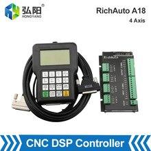 Richauto kontroler DSP A18 uchwyt grawerka CNC Router NEWCARVE USB powiązania 4-osi Motion Control instrukcji obsługi systemu
