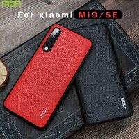 Voor Xiaomi Mi9 Se Case Mofi Voor Xiaomi Mi9 Case Verkennen Cover Pu Leather Back Cover Zakelijke Stijl Voor Xiaomi mi 9 Verkennen Se