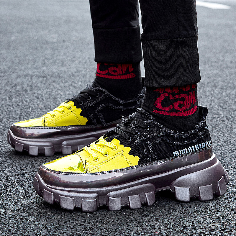 Hip Hop Streetwear Chunky Sneakers Men